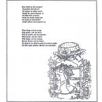 Knutselen - Poeziealbum versjes 23