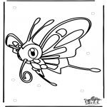 Stripfiguren Kleurplaten - Pokemon 10