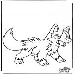 Stripfiguren Kleurplaten - Pokemon 12
