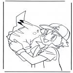 Stripfiguren Kleurplaten - Pokemon 2