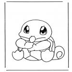 Stripfiguren Kleurplaten - Pokemon 6