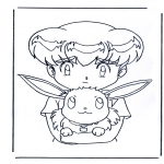 Stripfiguren Kleurplaten - Pokemon 7