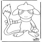 Stripfiguren Kleurplaten - Pokemon kleurplaten
