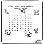 Knutselen - Pokemon puzzel 2