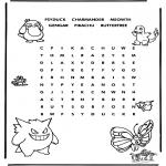 Knutselen - Pokemon puzzel 3