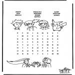 Knutselen - Pokemon puzzel 7
