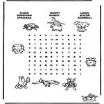 Knutselen - Pokemon puzzel 8