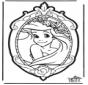 Prikkaart Disney Prinses 1