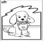 Prikkaart hond 2