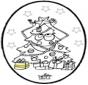 Prikkaart Kerstboom 3