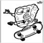 Prikkaart Spongebob