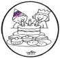 Prikkaart verjaardag