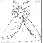 Allerlei Kleurplaten - Prinses 1