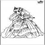 Allerlei Kleurplaten - Prinses 10