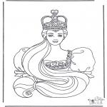 Allerlei Kleurplaten - Prinses 2