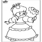 Allerlei Kleurplaten - Prinses 4