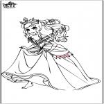 Allerlei Kleurplaten - Prinses 5