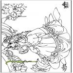 Allerlei Kleurplaten - Prinses 6