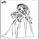 Allerlei Kleurplaten - Prinses 7
