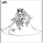Allerlei Kleurplaten - Prinses 8
