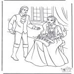 Allerlei Kleurplaten - Prinses en prins 1
