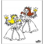 Allerlei Kleurplaten - Prinsesjes 4