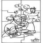 Knutselen - Puzzel Ariel