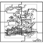 Knutselen - Puzzel Bambi