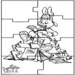 Knutselen - Puzzel Bobo