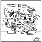 Knutselen - Puzzel Cars