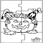 Knutselen - Puzzel Halloween
