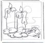 Puzzel kaarsen