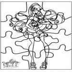 Knutselen - Puzzel Winx
