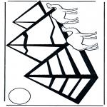 Allerlei Kleurplaten - Pyramides