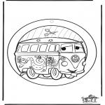 Knutselen - Raamhanger Cars