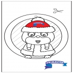 Knutselen - Raamhanger Hamster 2