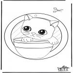 Knutselen - Raamhanger katje