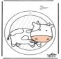 Raamhanger koe 1
