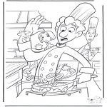 Stripfiguren Kleurplaten - Ratatouille 1