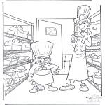 Stripfiguren Kleurplaten - Ratatouille 2