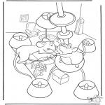 Stripfiguren Kleurplaten - Ratatouille 8