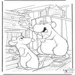 Stripfiguren Kleurplaten - Ratatouille 9