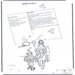 Knutselen Prikkaarten - Recept Pepernoten