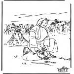 Kleurplaten Bijbel - Ruth 2