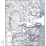 Allerlei Kleurplaten - Schilder Botticelli