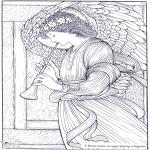 Allerlei Kleurplaten - Schilder Burne-Jones