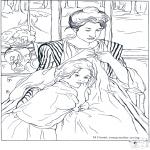 Allerlei Kleurplaten - Schilder Cassatt