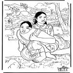 Allerlei Kleurplaten - Schilder Gauguin 2