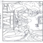Allerlei Kleurplaten - Schilder P. Cézanne