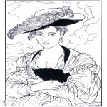 Allerlei Kleurplaten - Schilder Rubens